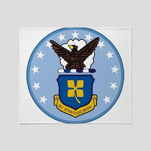 307th Strategic Wing Throw Blanket