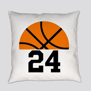 Basketball Player Number Everyday Pillow