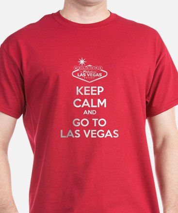Keep Calm And Go To Las Vegas T-Shirt