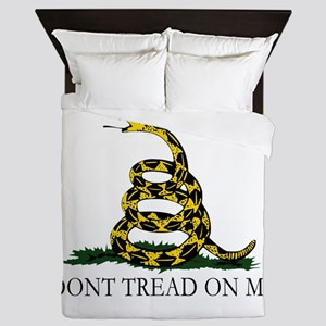 Dont Tread on Me Queen Duvet