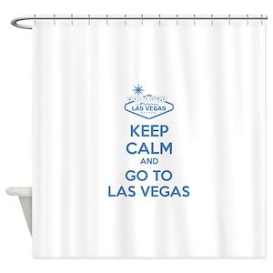 Las Vegas Strip Shower Curtains