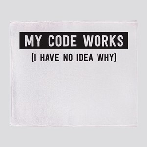 My code works no idea why Throw Blanket
