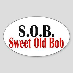 Sweet Old Bob - SOB Sticker