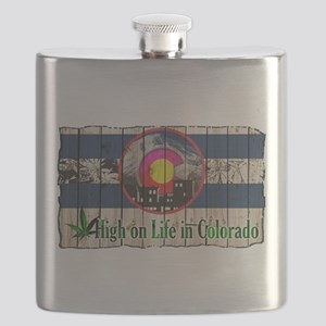 High On Life in Colorado Flask