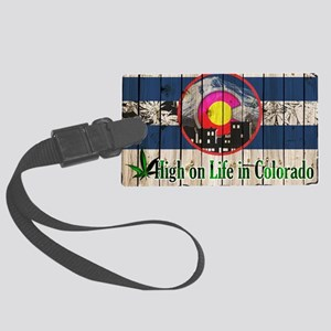 High On Life in Colorado Luggage Tag