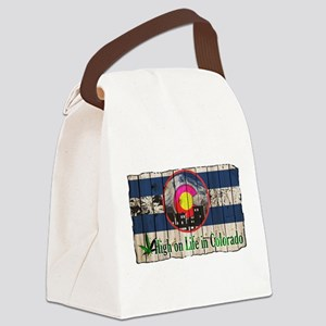 High On Life in Colorado Canvas Lunch Bag
