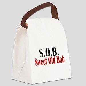 Sweet Old Bob - SOB Canvas Lunch Bag