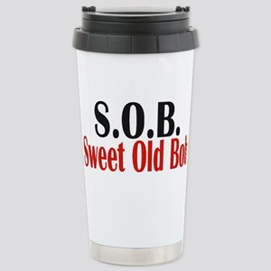 Sweet Old Bob - SOB Stainless Steel Travel Mug