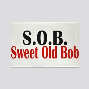 Sweet Old Bob - SOB Magnets