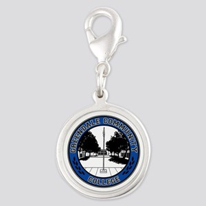Greendale Seal Silver Round Charm