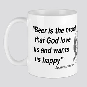 Benjamin Franklin 1 Mug