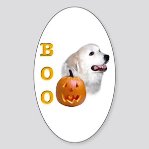 Pyrenees Boo Oval Sticker
