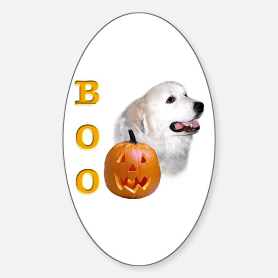 Pyrenees Boo Oval Decal