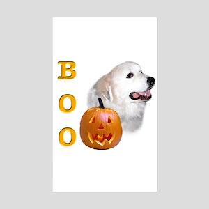 Pyrenees Boo Rectangle Sticker