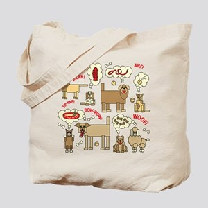 What Dogs Think Tote Bag