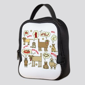 What Dogs Think Neoprene Lunch Bag