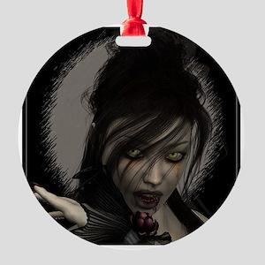 Vamp Round Ornament