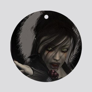 Vamp Ornament (Round)