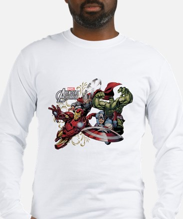 Avengers Group Long Sleeve T-Shirt