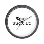 Team Suck It Wall Clock