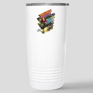 Text Avengers Stainless Steel Travel Mug