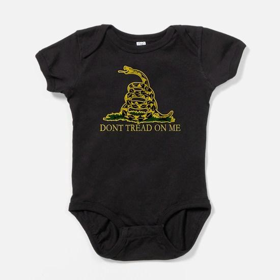 Dont tread on me Baby Bodysuit