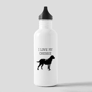 I Love My Chessie Water Bottle
