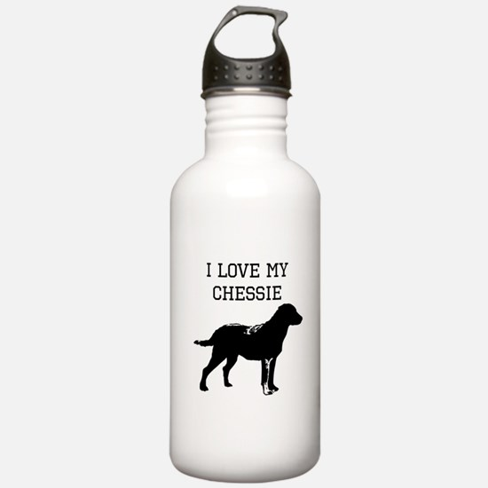 I Love My Chessie Water Bottle