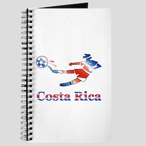 Costa Rica Soccer Player Journal