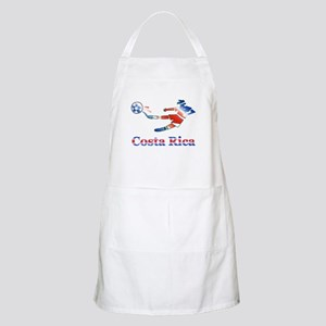 Costa Rica Soccer Player BBQ Apron
