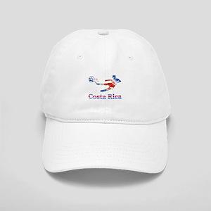 Costa Rica Soccer Player Cap