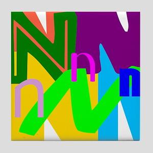 Initial Design (N) Tile Coaster