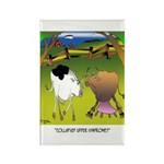 Cow Cartoon 9217 Rectangle Magnet (10 pack)