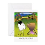 Cow Cartoon 9217 Greeting Cards (Pk of 10)