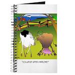 Cow Cartoon 9217 Journal