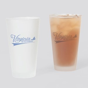 Virginia State of Mine Drinking Glass