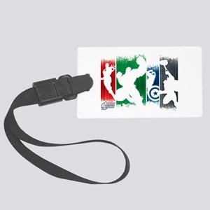 Avengers Stripes Large Luggage Tag