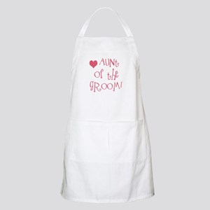 Aunt of the Groom BBQ Apron