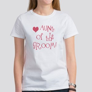 Aunt of the Groom Women's T-Shirt