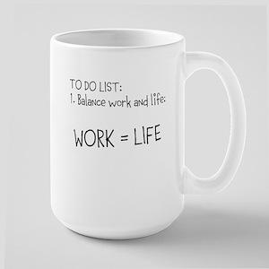 Work Life Balance Mugs