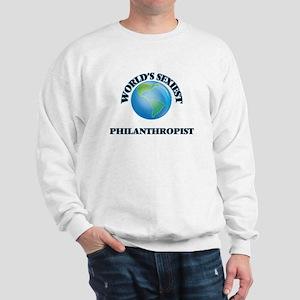 World's Sexiest Philanthropist Sweatshirt