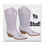 Yo Stud Tile Coaster