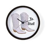 Yo Stud Wall Clock