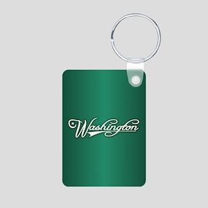 Washington State of Mine Keychains