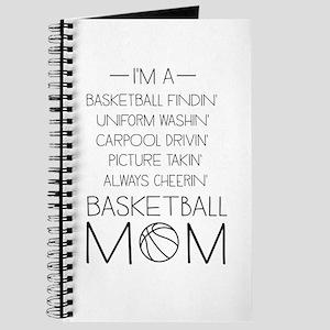 Basketball mom checklist Journal