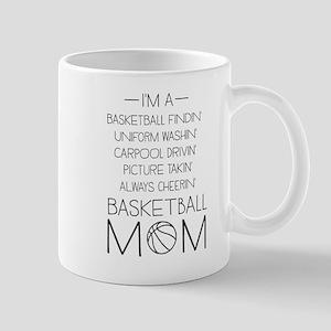 Basketball mom checklist Mugs