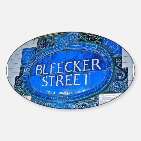 Bleeker Street : NYC Subway Decal