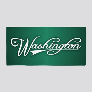 Washington State of Mine Beach Towel