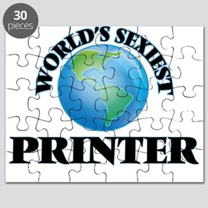 World's Sexiest Printer Puzzle