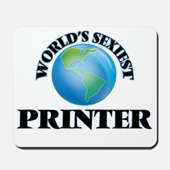 World's Sexiest Printer Mousepad